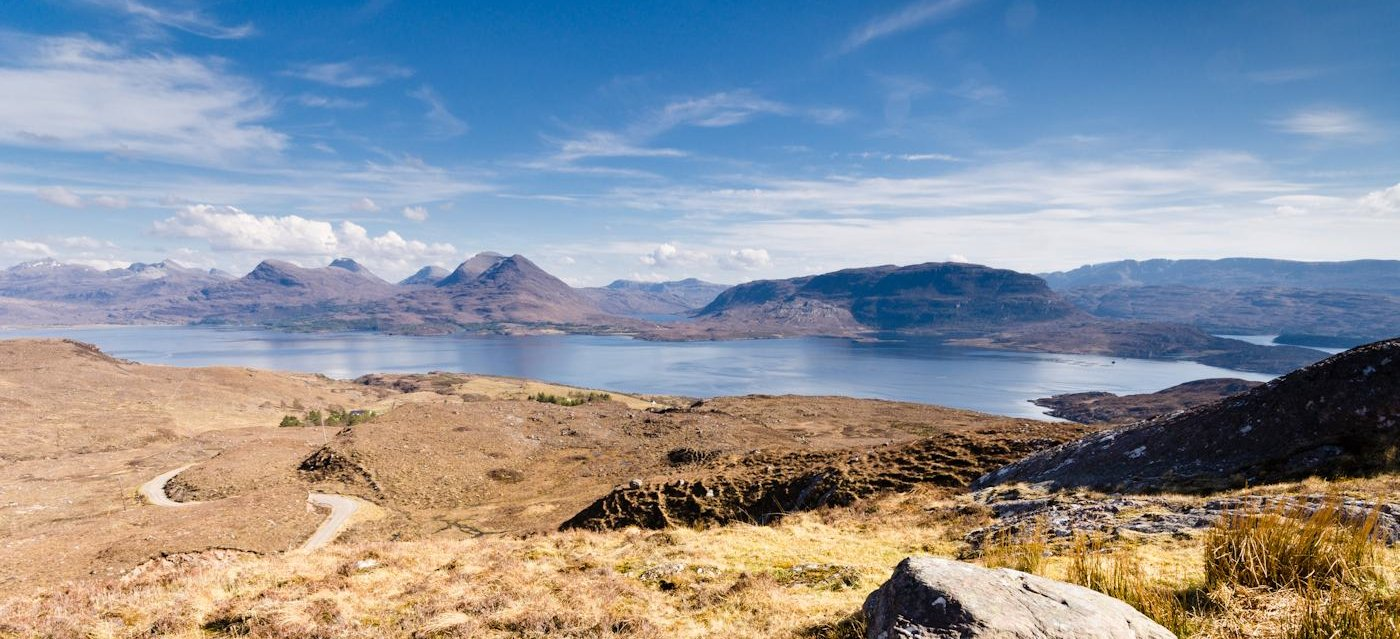 Loch Torridon and mountains