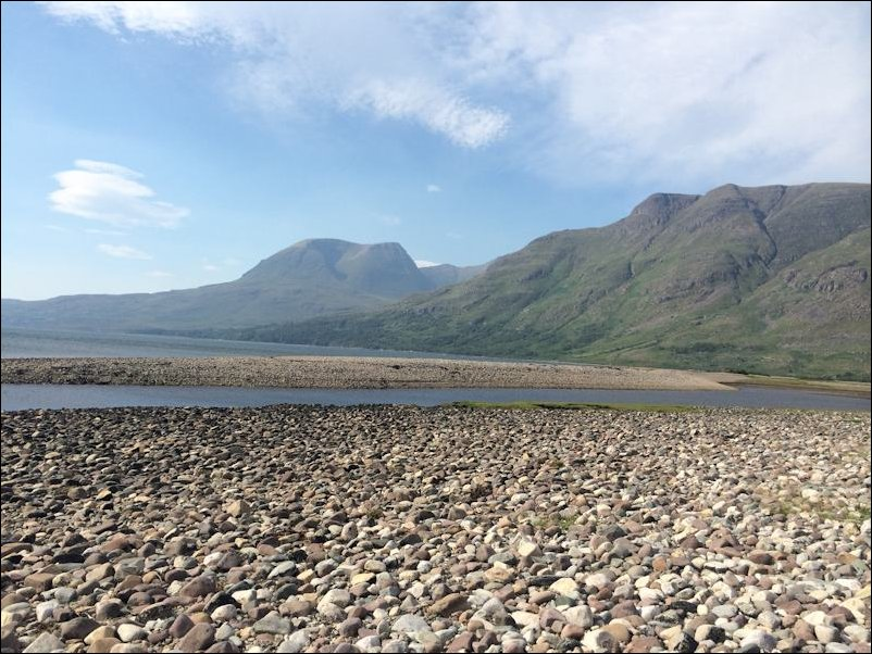 Upper Loch Torridon and mountains